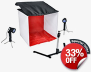 Table Top Photo Studio Light Tent Kit