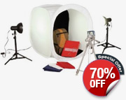 Product Photography Softbox Complete Kit