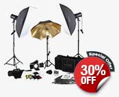 Complete Portrait Studio Kit