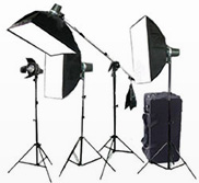 Continuous Lighting Photography Kits