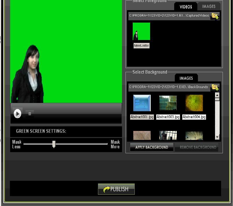free green screen video software