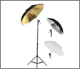 Photography Flash Mount Umbrella Kit